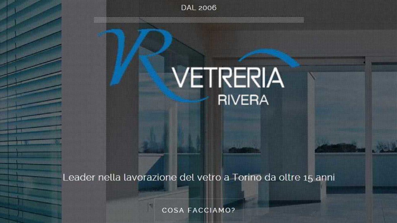 La Vetreria Torino.Vetreria Rivera Artigiani Del Vetro E Vetreria Dal 2006 A